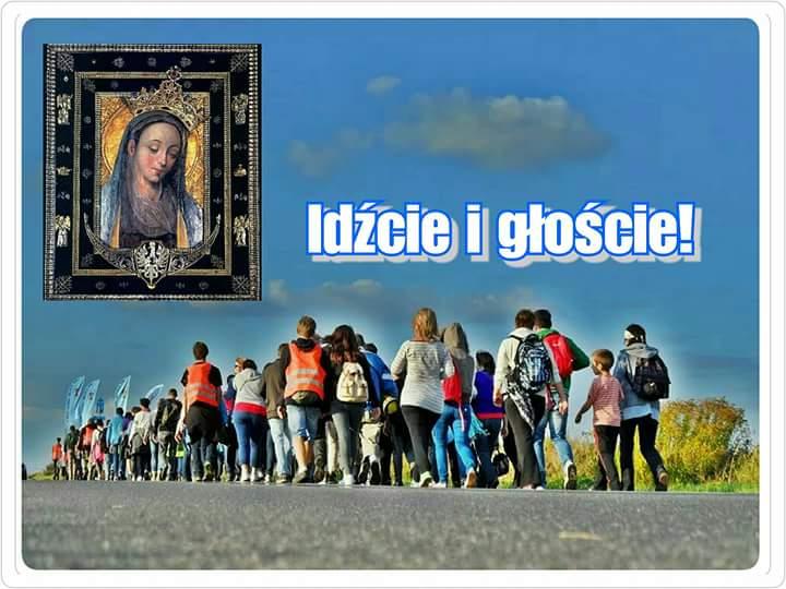 37 Piesza Pielgrzymka ze Świebodzina do Matki Bożej Cierpliwie Słuchającej z Rokitna